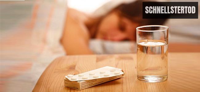 Tod durch Schlaftabletten qualvoll